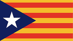 Flag of Catalan separatism