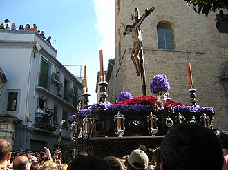 Jaén, Spain - Holy week in Jaén.