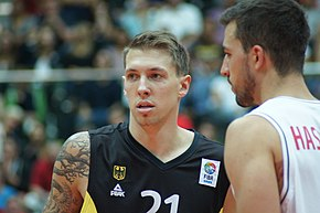 EuroBasket Qualifier Austria vs Germany, 13 August 2014 - 054.JPG