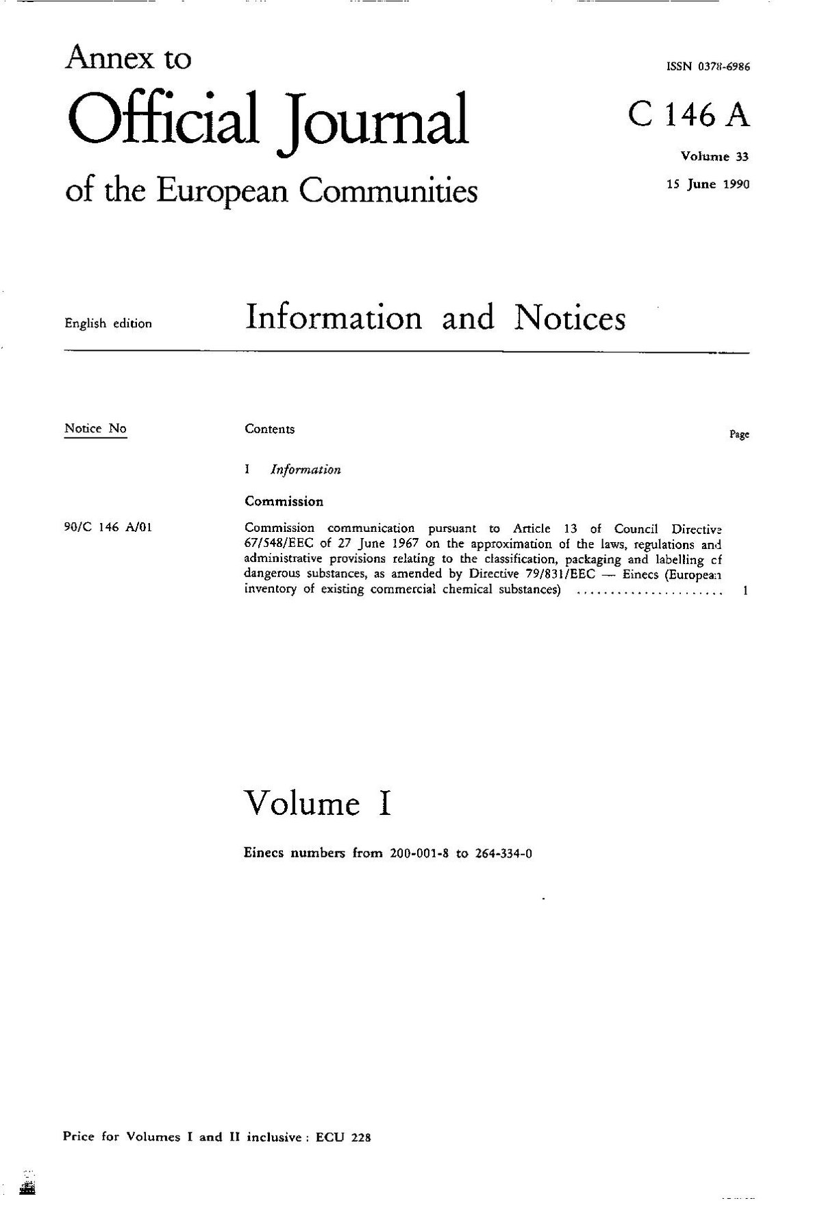 European Community number - Wikipedia
