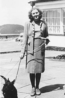 Eva Braun Longtime companion and later wife of Adolf Hitler