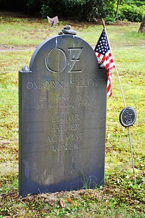 Osborn Elliott - Evergreen Cemetery, Osborn Elliott