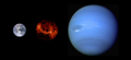 Exoplanet Comparison CoRoT-7 b with Earth and Neptune.png