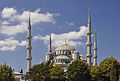 Exterior of Sultan Ahmed I Mosque in Istanbul, Turkey 003.jpg