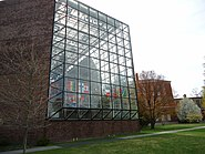 Exterior view of Wilson Commons at the University of Rochester