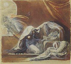 Füssli - Der Wechselbalg - 1780