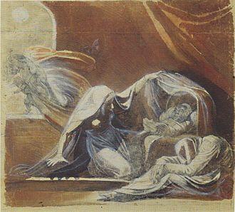 Changeling - Der Wechselbalg by Henry Fuseli, 1781