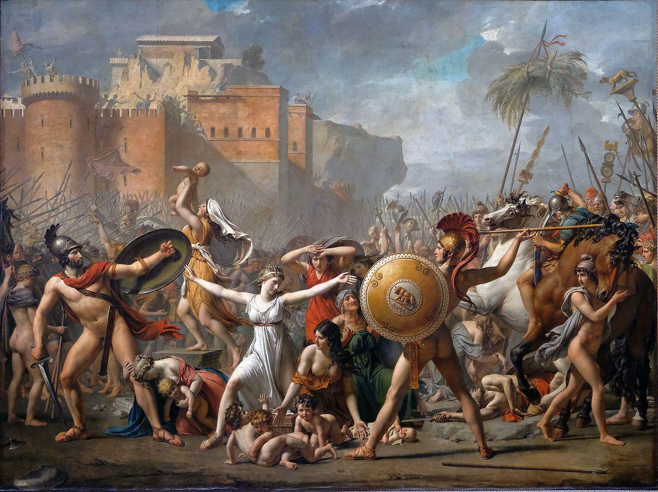 LA LISEUSE - L'OUTRE-RÉEL IV //2 1280px-F0440_Louvre_JL_David_Sabines_INV3691_rwk
