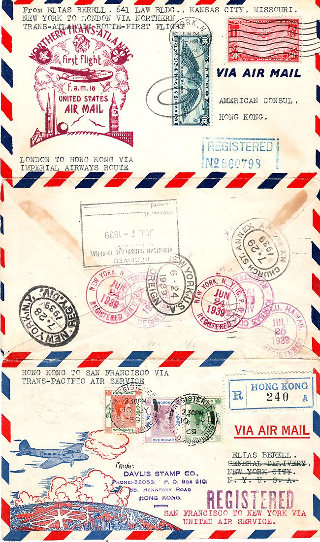 FAM 18 Round the World 1939