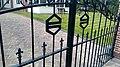 FC Groningen gate at a villa, Haren (2020) 02.jpg
