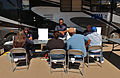 FEMA - 32749 - FEMA workers helping residents at Mobile Disaster Recovery Center in Ohio.jpg