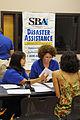 FEMA - 41087 - SBA Interview at Leon DRC.jpg