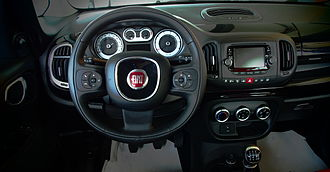 Fiat 500L - Instrument panel