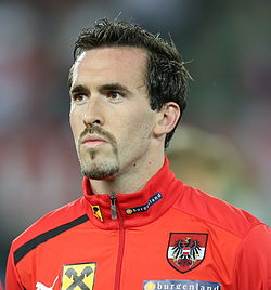 FIFA WC-qualification 2014 - Austria vs Ireland 2013-09-10 - Christian Fuchs 01.jpg