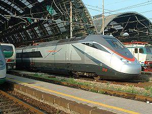 "FS Class ETR 500 - ETR.500 ""AV"" at Milano Centrale."