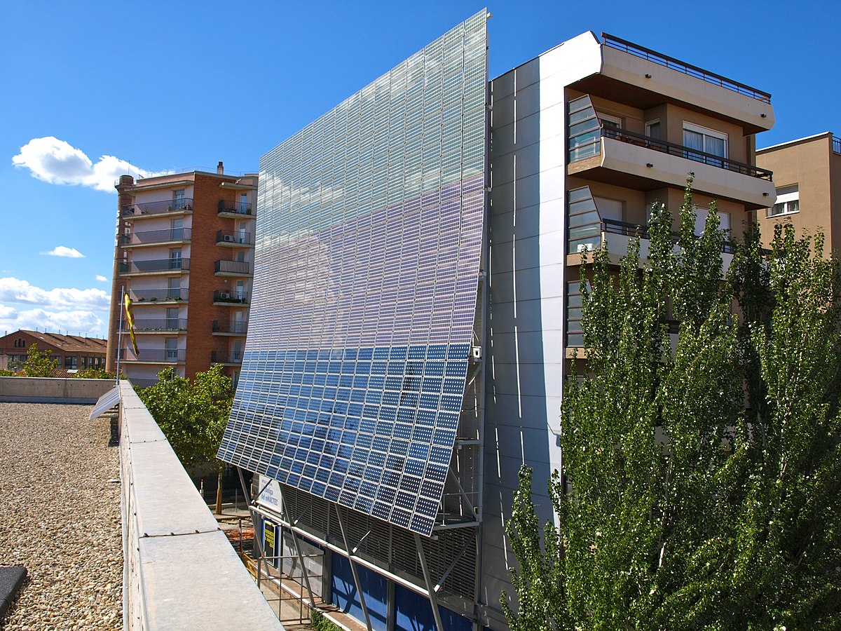 Building Integrated Photovoltaics Wikipedia