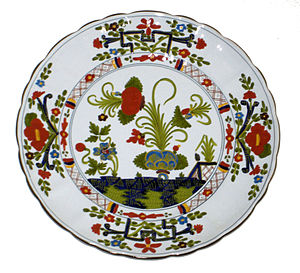Faenza - An example of Faenza Majolica in the so-called Garofano style.