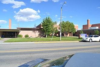 Fairfield, Montana - Fairfield High School