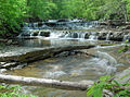 Falls in Walls of Jericho Canyon - panoramio.jpg