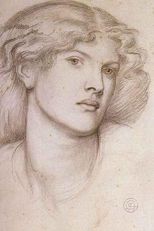 Fanny Cornforth - Fanny Cornforth by Dante Gabriel Rossetti c 1865 Pencil on paper