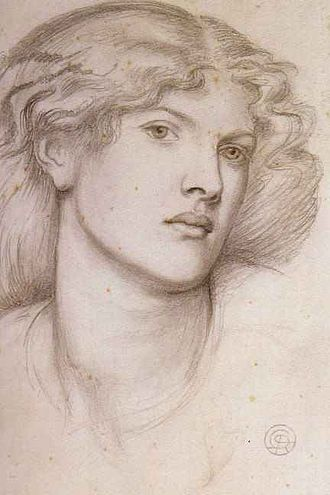 Fanny Cornforth - Fanny Cornforth by Dante Gabriel Rossetti c 1865 Pencil on paper