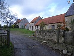 Farm Buildings and Yard, Home Farm, Easton Maudit - geograph.org.uk - 284965.jpg