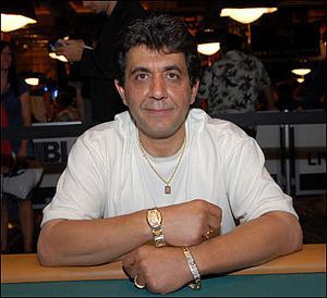 Freddy Rouhani - Rouhani after winning the $2,500 Omaha/Seven Card Stud Hi-Low-8 or Better event at the 2008 World Series of Poker