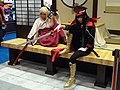 Fate Gudaguda Honnoji cosplayers of Okita Sōji and Oda Nobunaga 20170813c.jpg