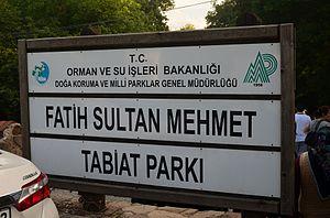 Fatih Sultan Mehmet Nature Park - Image: Fatih Sultan Mehmet Nature Park
