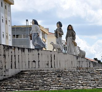 Cova da Iria - Monument dedicated to the three little shepherds (the seers) of Fátima.