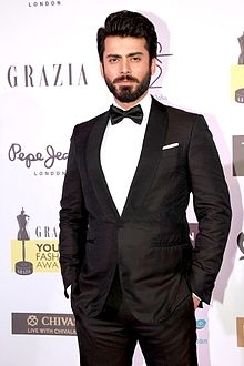 Fawad khan at grazia young faishon awards.jpg