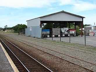 Featherston railway station - Image: Featherston railway station 03