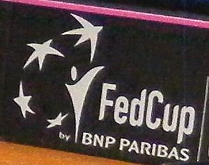 Fed Cup 2013 Germany vs Serbia - team presentation 01 (cropped).jpg