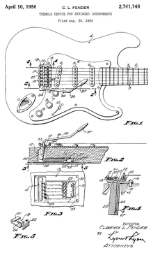 Vibrato systems for guitar - Wikipedia