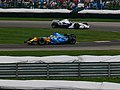 Fernando Alonso and Jacques Villeneuve 2006 Indianapolis.jpg