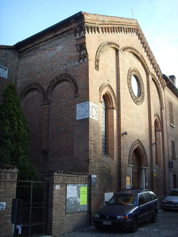 File ferrara chiesa di san gregorio x secolo jpg for Permesso di soggiorno ferrara