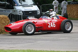 1958 Formula One season - Ferrari placed second with the Ferrari 246 F1