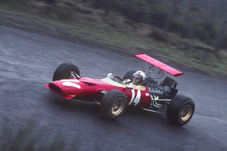 Ferrari Dino F2 - Derek Bell 1969-04-26
