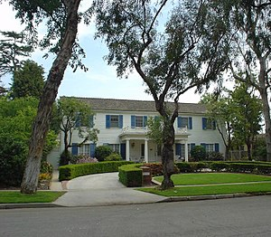 Ferris Bueller's Day Off - Southeast view of the house in Los Cerritos in Long Beach, California, used in the film