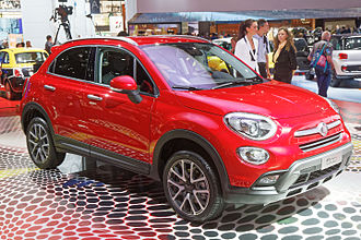 2014 Paris Motor Show - Fiat 500X at Paris 2014