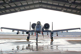 Maryland Air National Guard - A-10 from Maryland Air National Guard's 104th Fighter Squadron
