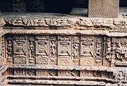Figure Sculpture at Mahadeva Temple at Itagi