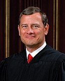 headshot portrait of Chief Justice Roberts
