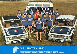 Filotex cycling team 1973.jpg