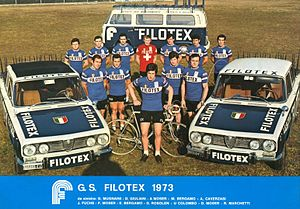 Filotex (cycling team) - The Filotex team of 1973