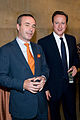 Financial Times Editor, Lionel Barber and Prime Minister, David Cameron (4751020107).jpg