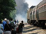 Fire burning after July 2011 grade crossing accident.jpg