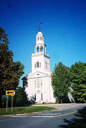 National Register of Historic Places listings in Vermont - First Congregational Church of Bennington, in Bennington County