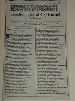 Image illustrative de l'article Richard II (Shakespeare)