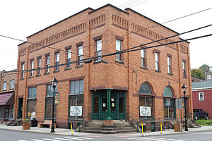 National Register of Historic Places listings in Hancock County, West Virginia - Image: First Nation Bank Graham Building 2012